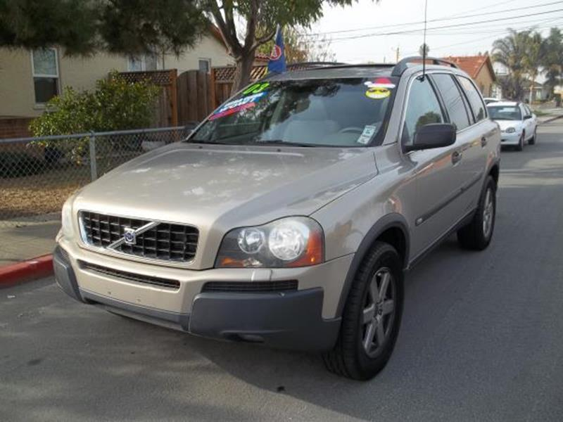 2003 VOLVO XC90 T6 AWD 4DR TURBO SUV champagne this is a beautiful champagne 2003 volvo xc90 4 do