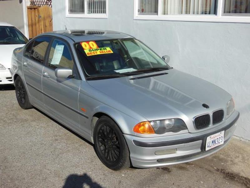 2000 BMW 3 SERIES 323I 4DR SEDAN silver this is a beautiful silver 2000 bmw 3 series 4 door sedan
