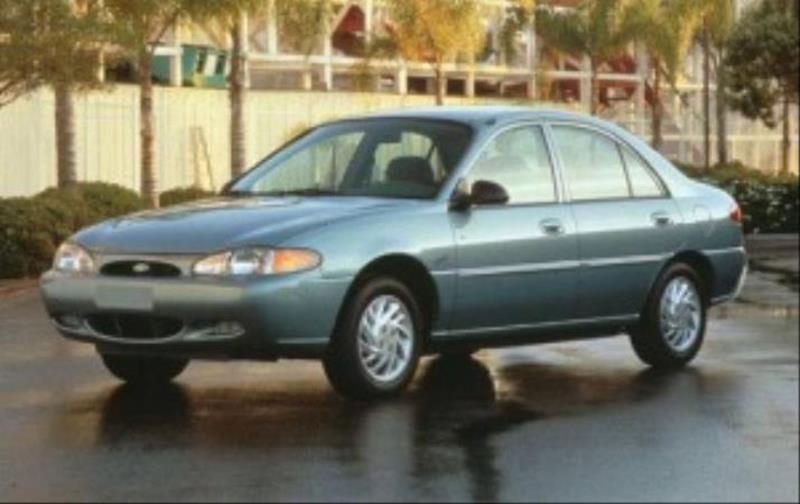 1999 FORD ESCORT SE 4DR SEDAN blue this is a beautiful green 1999 ford escort 4 door sedan automa