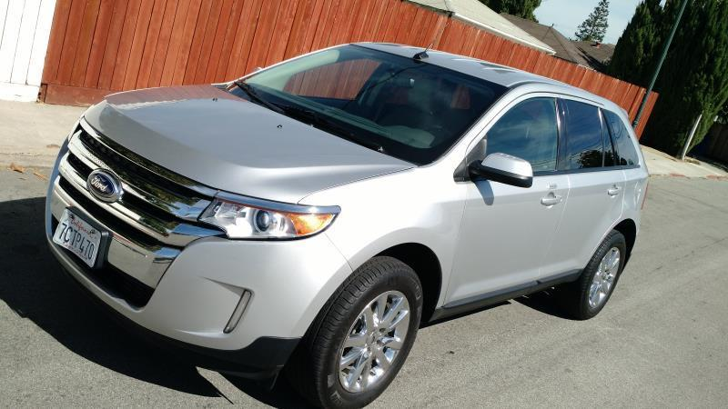 2013 FORD EDGE SEL 4DR SUV silver this is a beautiful silver 2013 ford edge 4 door wagon automati