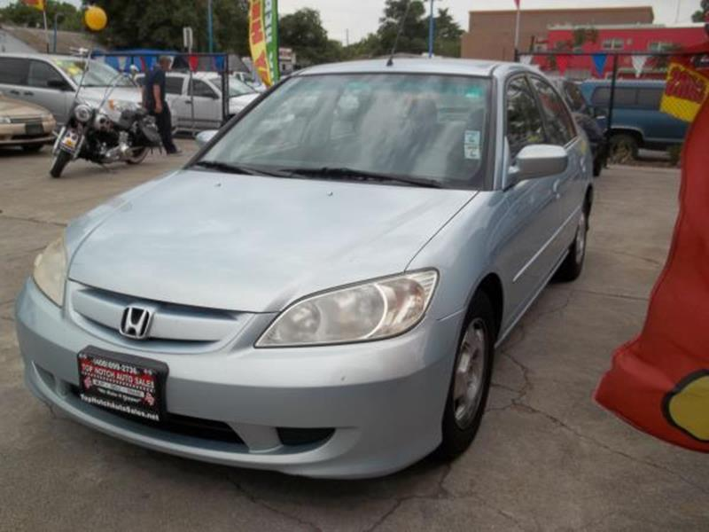 2004 HONDA CIVIC HYBRID 4DR SEDAN blue this is a beautiful blue 2004 honda civic hybrid 4 door se