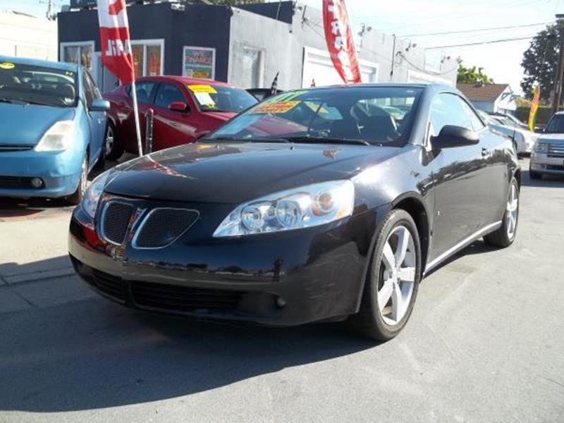 2007 PONTIAC G6 GT 2DR CONVERTIBLE black this is a beautiful black 2007 pontiac g6 2 door hard  t