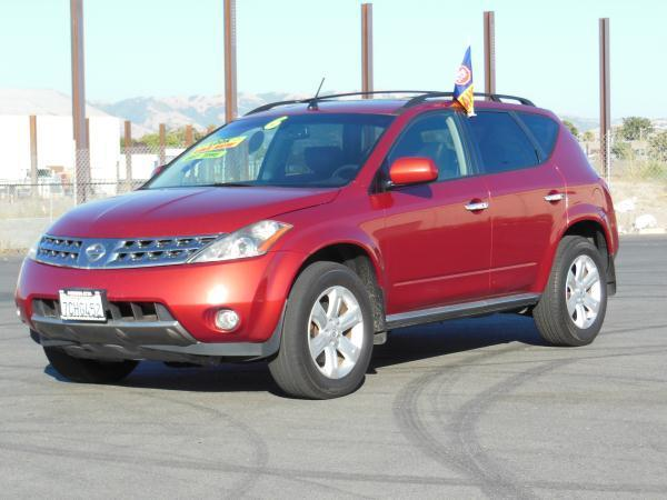 2006 NISSAN MURANO SL AWD 4DR SUV burgandy this is a beautiful burgandy 2006 nissan murano 4 door