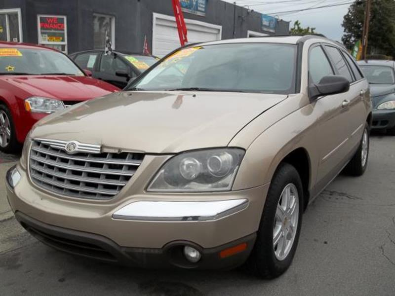 2004 CHRYSLER PACIFICA BASE FWD 4DR WAGON gold this is a beautiful gold 2004 chrysler pacifica 4