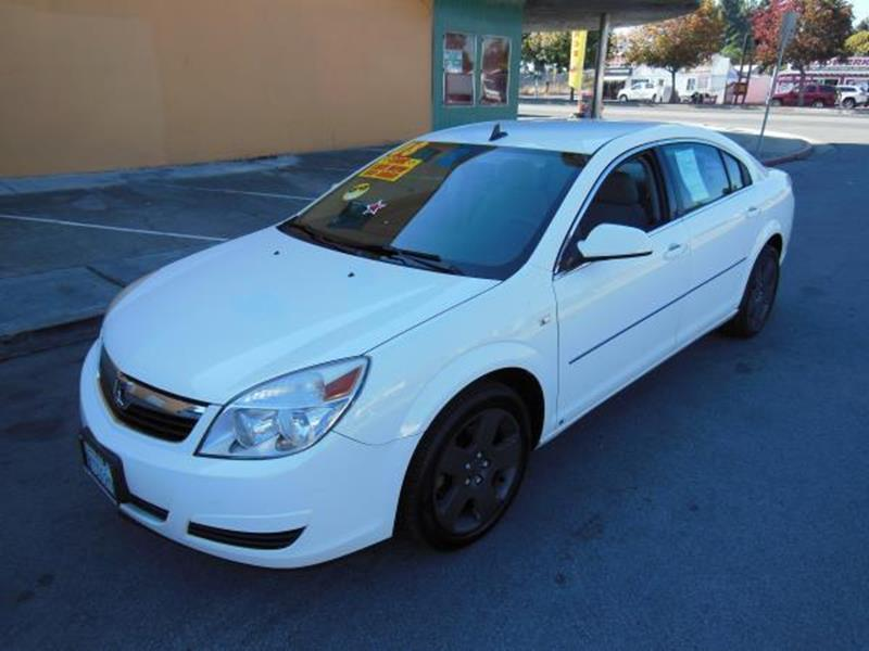 2008 SATURN AURA XE 4DR SEDAN V6 white this is a beautiful white 2008 saturn aura 4 door sedan au
