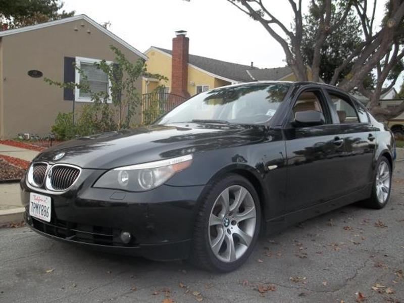 2007 BMW 5 SERIES 550I 4DR SEDAN black this is a beautiful black 2007 bmw 5 series 4 door sedan a