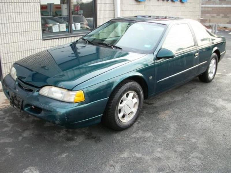1995 FORD THUNDERBIRD LX 2DR COUPE green this is a beautiful green 1995 ford thunderbird 2 door a