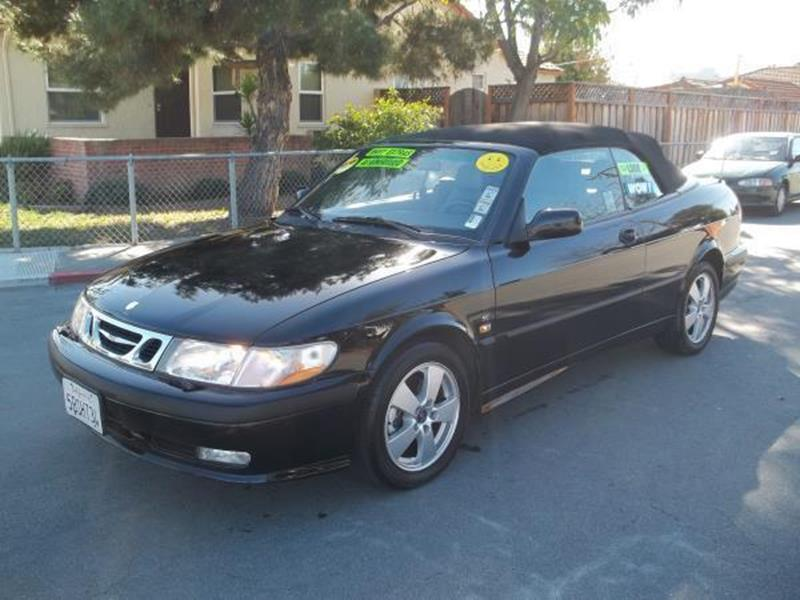 2002 SAAB 9-3 SE 2DR TURBO CONVERTIBLE black this is a beautiful black 2002 saab 9-3 2 door conve