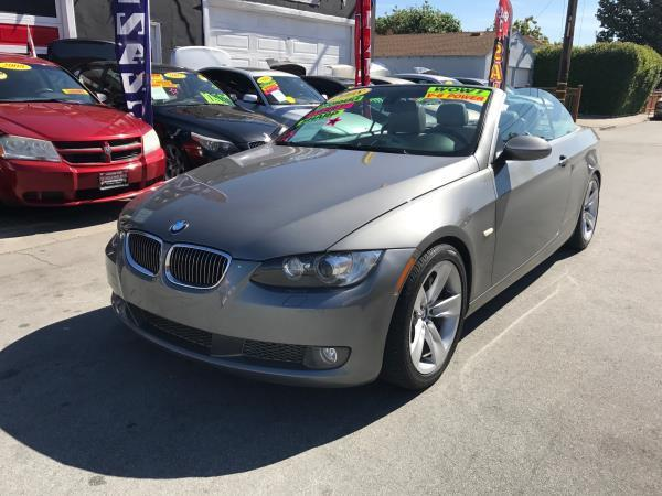 2008 BMW 3 SERIES 335I 2DR CONVERTIBLE gray this is a beautiful gray 2008 bmw 3 series 2 door con