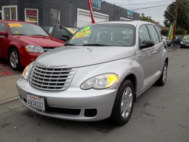 2006 CHRYSLER PT CRUISER TOURING 4DR WAGON silver this is a beautiful silver 2006 chrysler pt cru