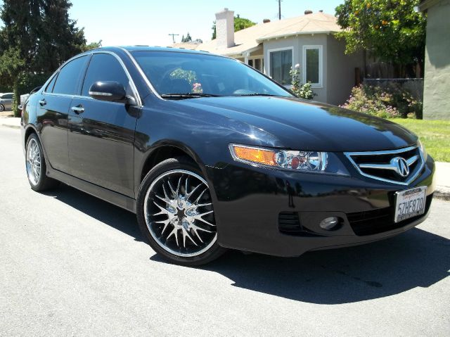 2007 ACURA TSX black air conditioneralarmamfm radioanti-lock brakescassette playercd changer