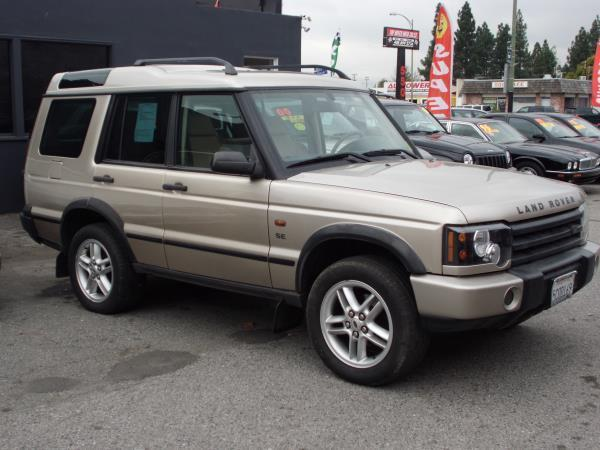 2003 LAND ROVER DISCOVERY champagne this is a 2003 land rover discovery 4 door wagon 4 speed autom