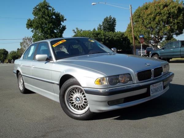 2001 BMW 7 SERIES silver air conditioneralarmamfm radioanti-lock brakescd changercruise cont