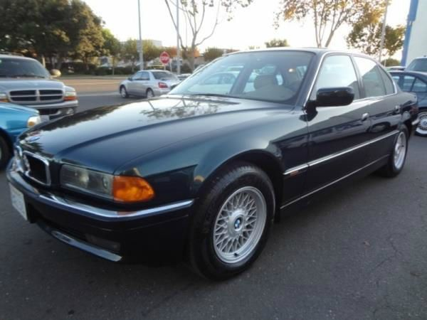 1998 BMW 7 SERIES black this is a black 1998 bmw 7 series 4 door sedan 5 speed automatic v8 44l