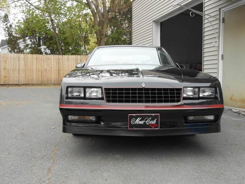 1986 Chevrolet Monte Carlo SS 2dr Coupe - Lincoln RI