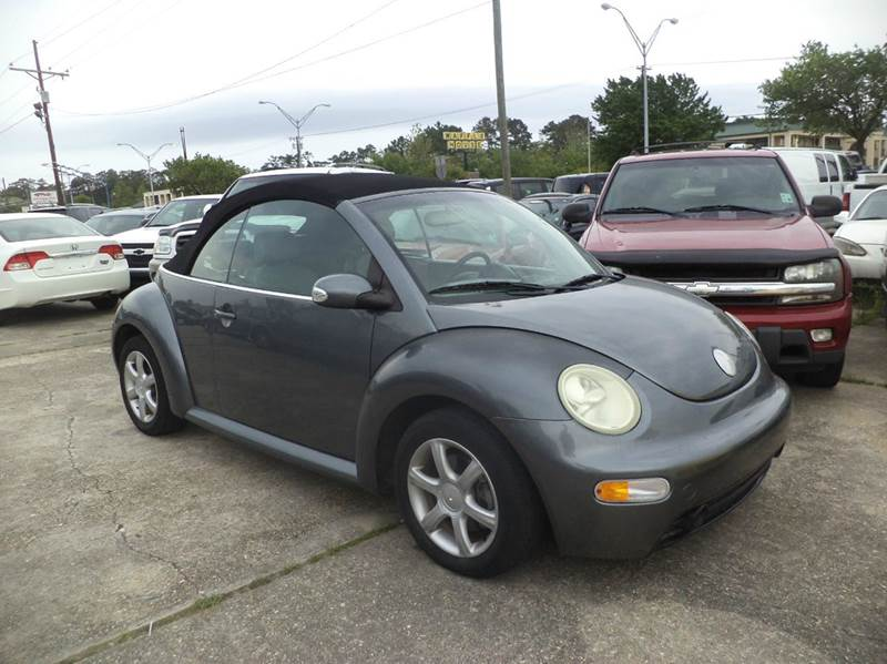 2005 volkswagen new beetle 2dr gls 1 8t turbo convertible. Black Bedroom Furniture Sets. Home Design Ideas