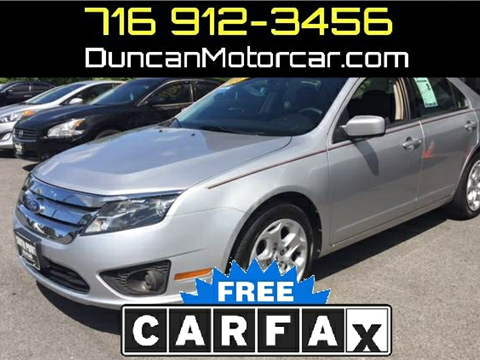 2011 Ford Fusion for sale in Buffalo, NY