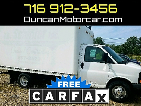 2009 Chevrolet Express Cutaway for sale in Buffalo, NY