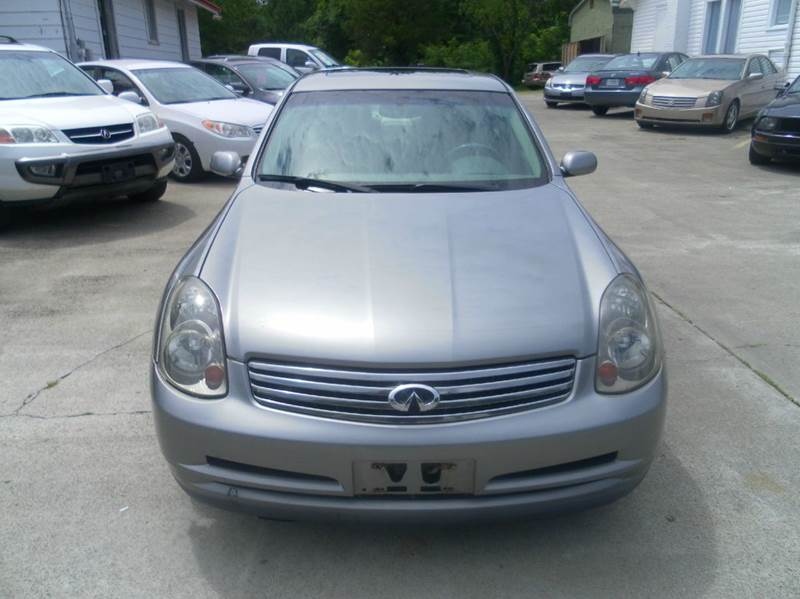 2004 infiniti g35 base awd 4dr sedan w leather in durham. Black Bedroom Furniture Sets. Home Design Ideas