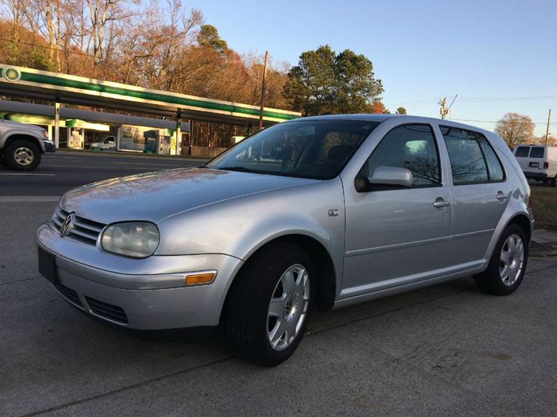 2001 volkswagen golf gls 4dr hatchback in durham nc. Black Bedroom Furniture Sets. Home Design Ideas