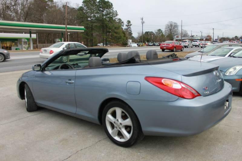 2005 toyota camry solara sle v6 2dr convertible in durham. Black Bedroom Furniture Sets. Home Design Ideas