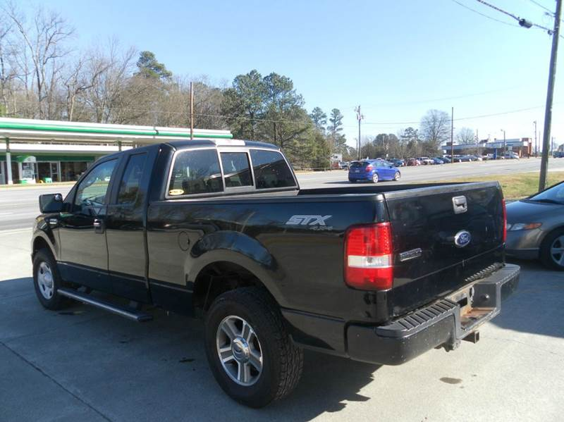2008 ford f 150 stx 4x4 4dr supercab styleside 5 5 ft sb in durham nc carolina pre owned. Black Bedroom Furniture Sets. Home Design Ideas