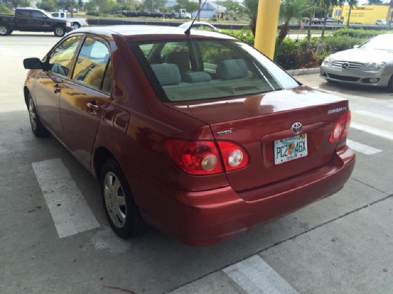 2006 Toyota Corolla CE 4dr Sedan w/Automatic - Pompano Beach FL