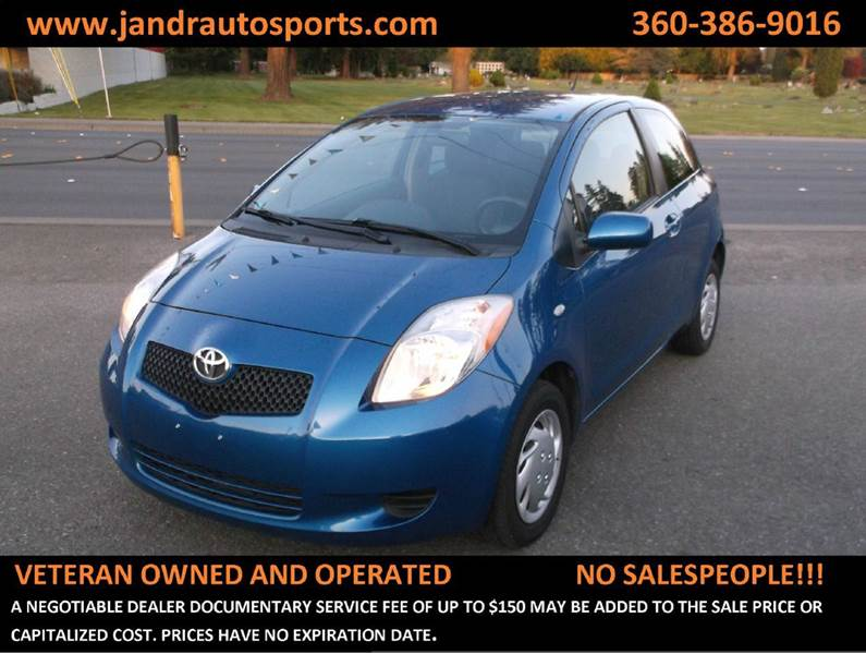 Toyota yaris for sale in washington for Clyde revord motors everett wa