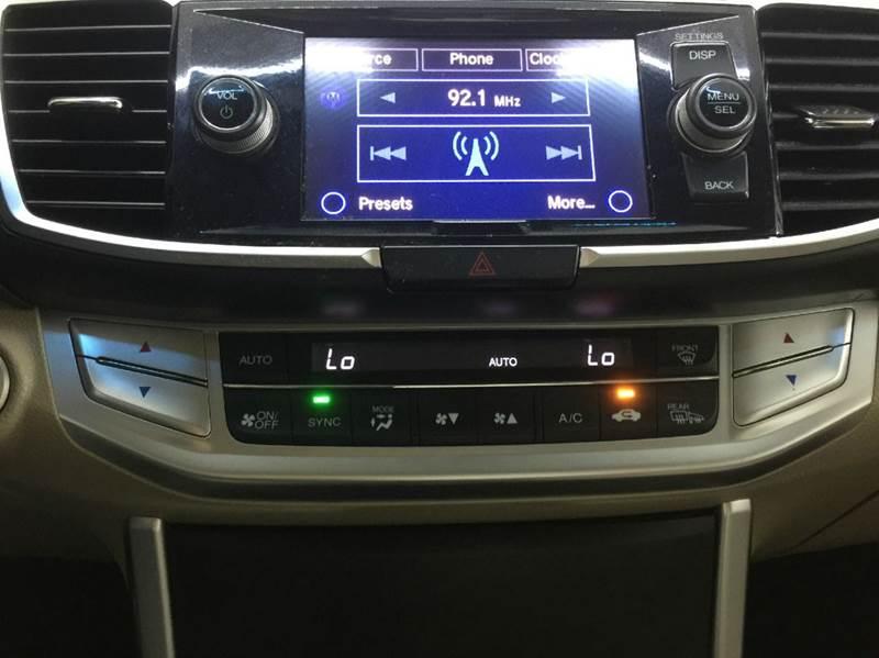 2013 Honda Accord EX-L 4dr Sedan - Celina OH