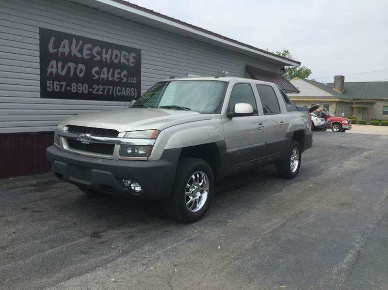 2004 Chevrolet Avalanche 4dr 1500 4WD Crew Cab SB - Celina OH