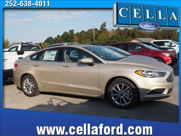 2017 Ford Fusion for sale in New Bern NC