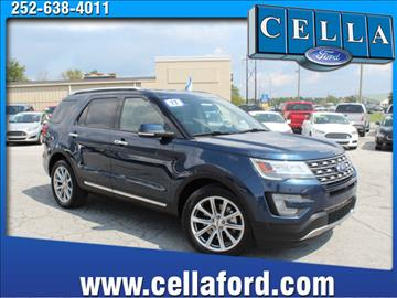2017 Ford Explorer for sale in New Bern NC