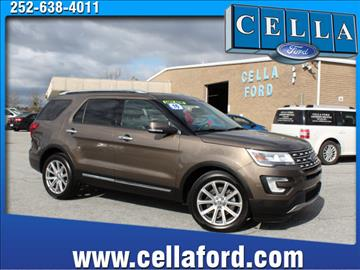 2016 Ford Explorer for sale in New Bern, NC