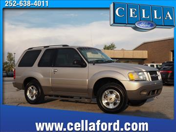 2003 Ford Explorer Sport for sale in New Bern, NC