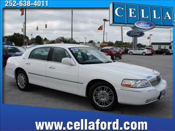 2009 Lincoln Town Car for sale in New Bern, NC
