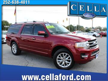 2015 Ford Expedition EL for sale in New Bern NC