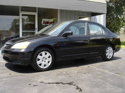 2002 Honda Civic for sale in Nokomis, FL