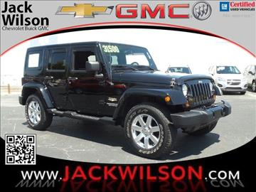 2013 Jeep Wrangler Unlimited for sale in Saint Augustine, FL