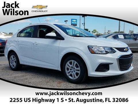 2018 Chevrolet Sonic for sale in Saint Augustine, FL