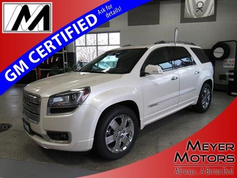 2014 GMC Acadia for sale in Plymouth, WI
