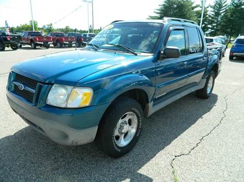 2002 Ford Explorer Sport Trac for sale in Quinnesec, MI