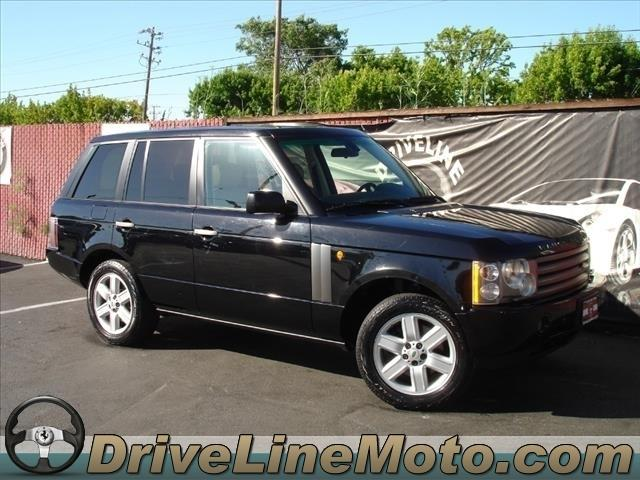 2004 Land Rover Range Rover for sale in SAN CARLOS CA