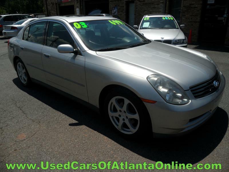 Infiniti Used Cars Luxury Cars For Sale Buford Used Cars of Atlanta