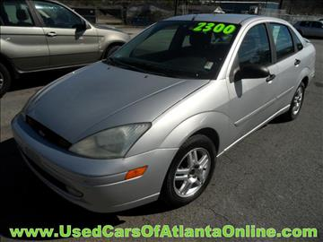 2001 Ford Focus for sale in Buford, GA