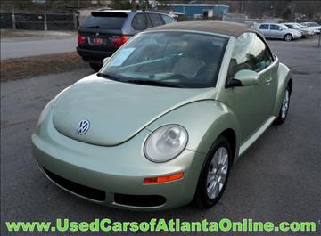 2008 Volkswagen New Beetle for sale in Buford, GA