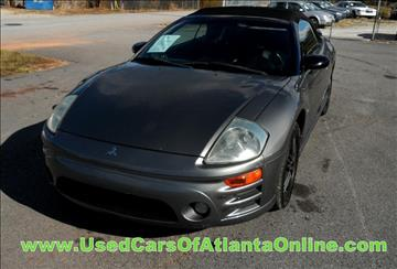 2004 Mitsubishi Eclipse Spyder for sale in Buford, GA