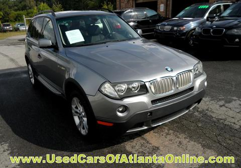 2008 BMW X3 for sale in Buford, GA