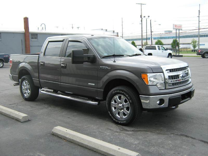 2013 Ford F-150 4x4 XLT 4dr SuperCrew Styleside 5.5 ft. SB - Clyde OH