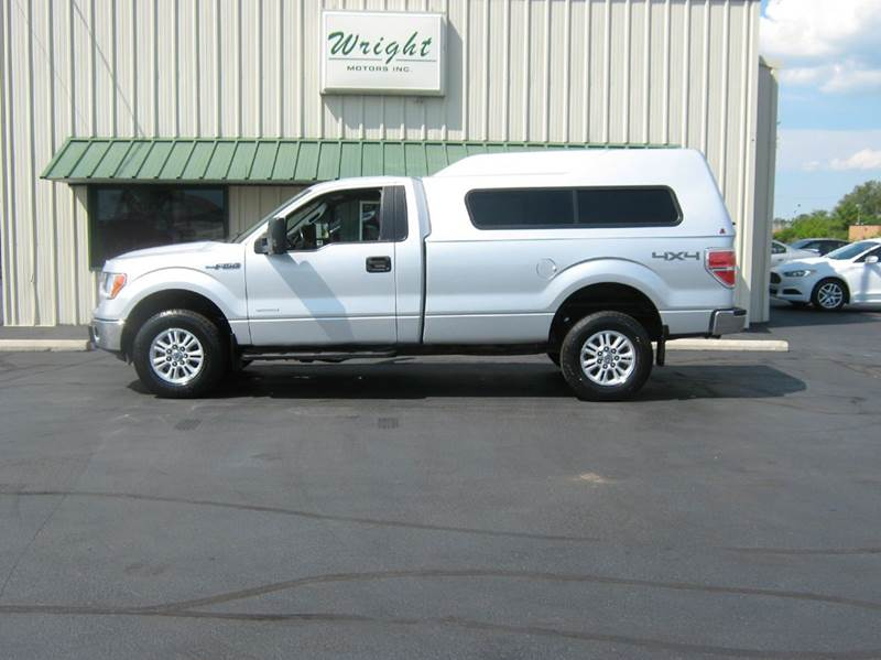 2013 Ford F-150 4x4 XLT 2dr Regular Cab Styleside 8 ft. LB - Clyde OH
