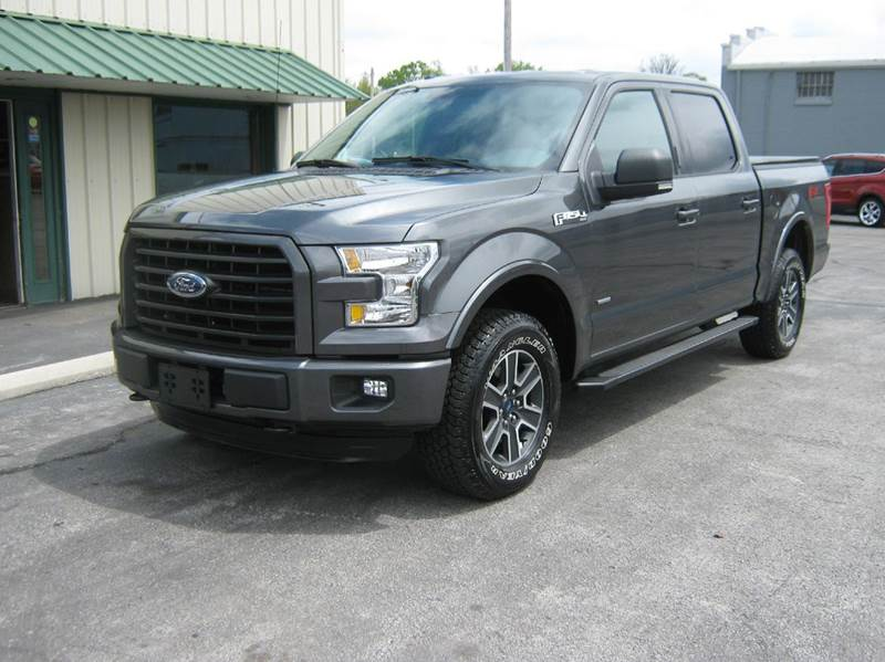 2016 Ford F-150 4x4 XLT 4dr SuperCrew 5.5 ft. SB - Clyde OH